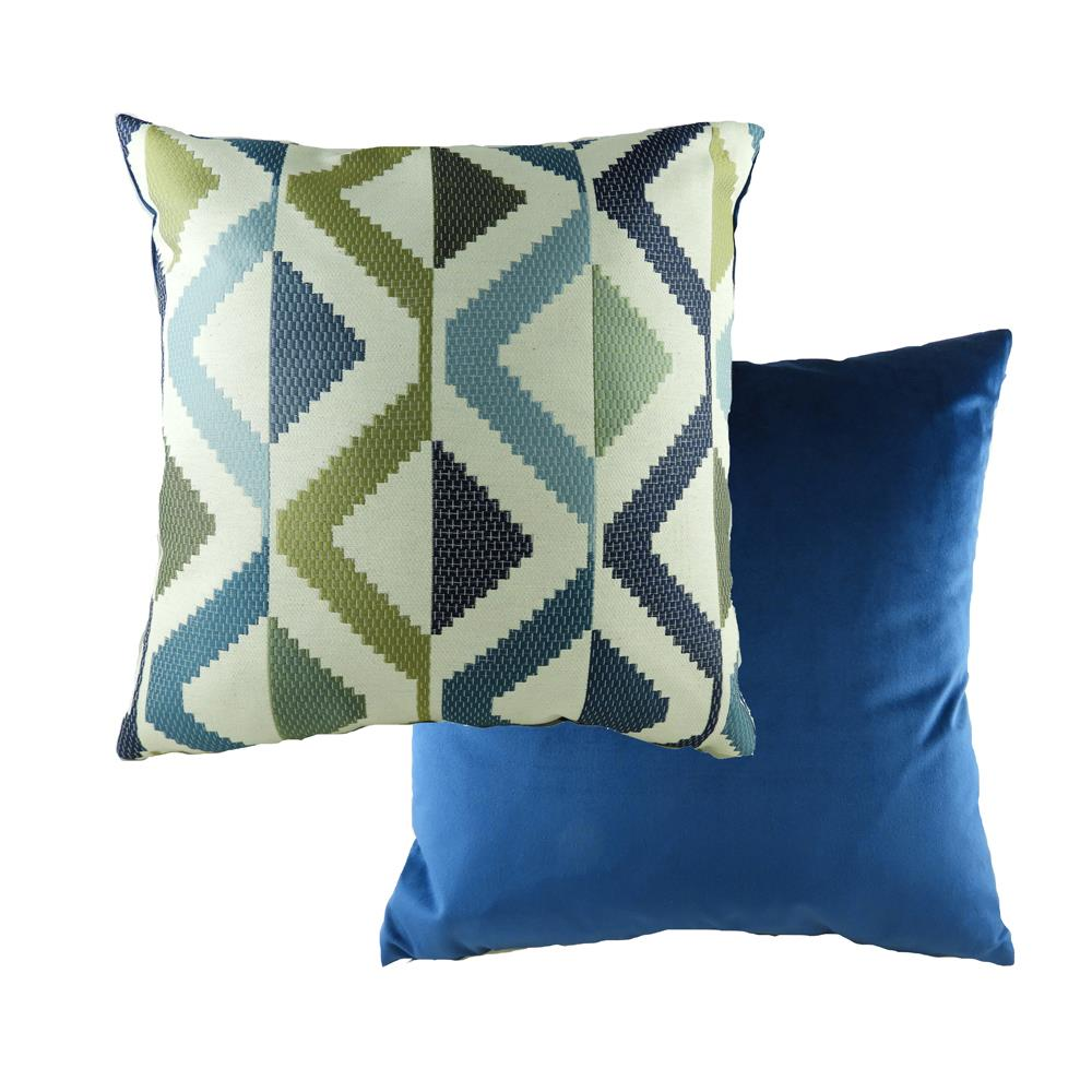 Pingxi Abstract Blue Cushion 43cm