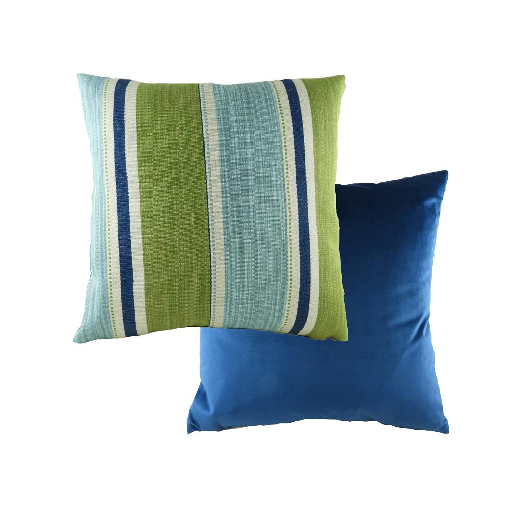 Pingxi Stripe Blue Cushion 43cm