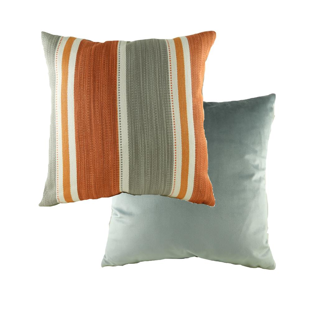 Pingxi Stripe Amber Cushion 43cm