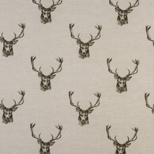 Fryetts Stags Charcoal PVC