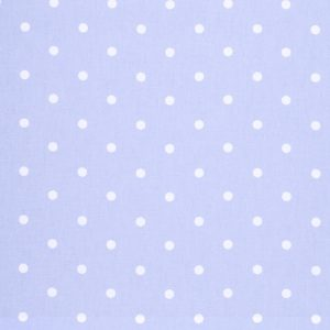 Clarke & Clarke Dotty Powder Blue PVC