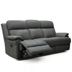 Nebraska 3 Seater Manual Recliner Sofa