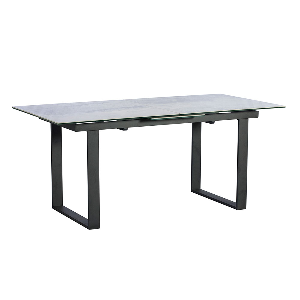 Palermo Extending Dining Table Light Grey