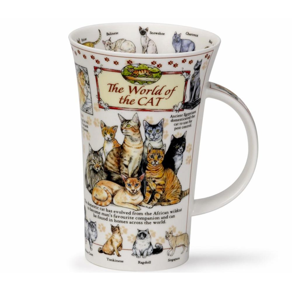 Dunoon World Of Cats Mug