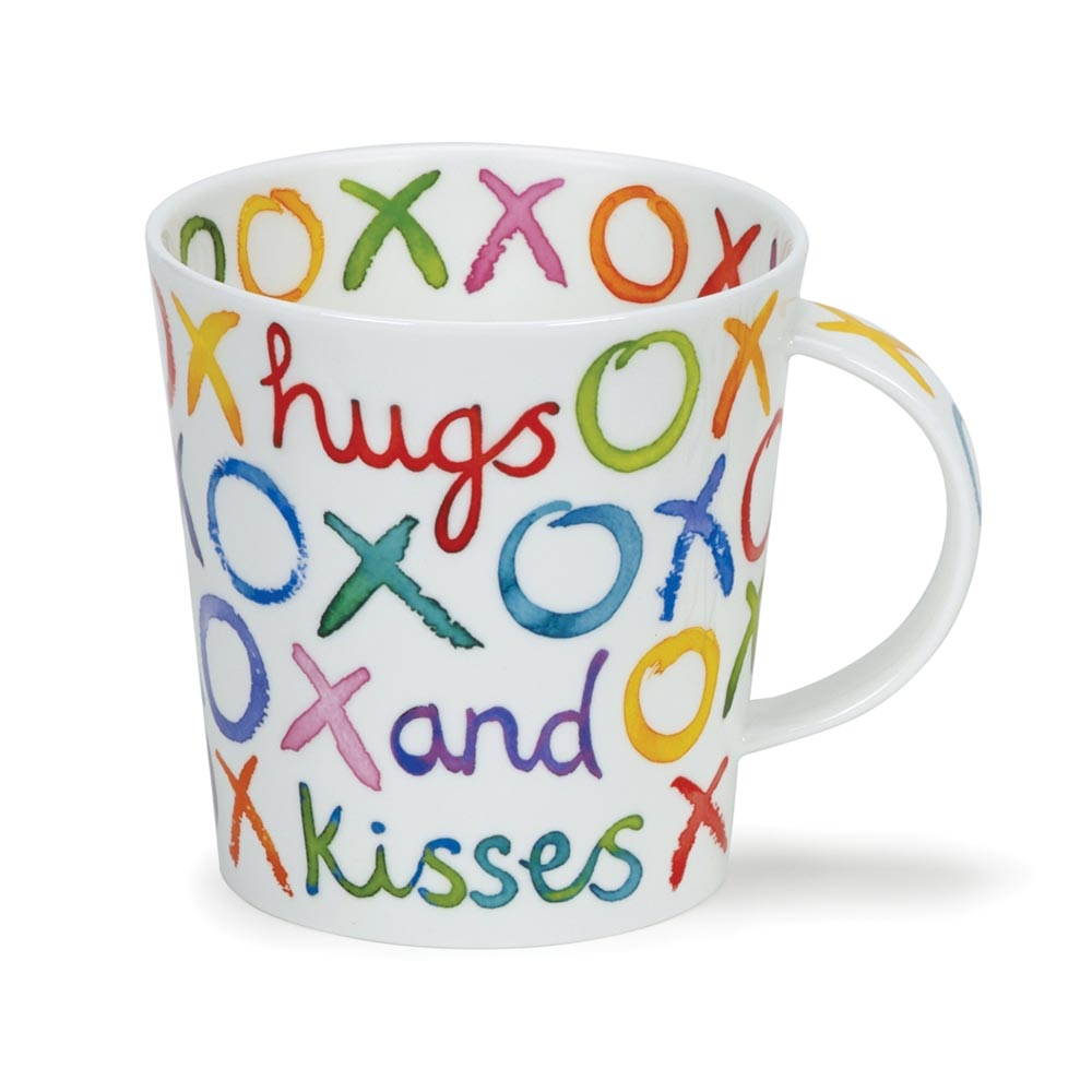 Dunoon Lomond Love & Kisses Mug