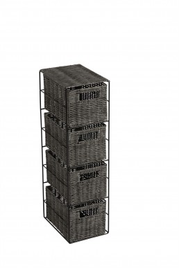 4 Drawer Slimline Tower