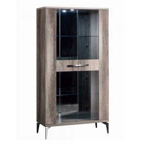 Toulon 2 Glass Door Cabinet