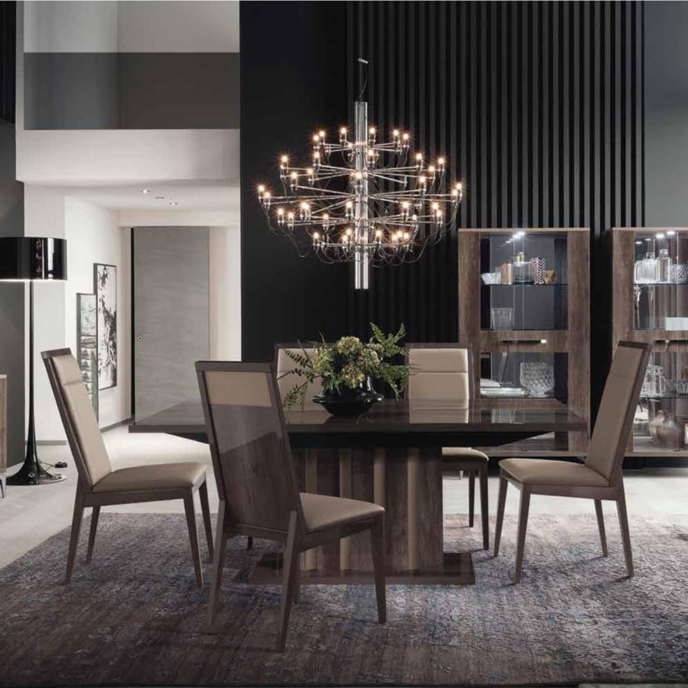Toulon Extending Dining Table 160-210cm and 4 Dining Chairs