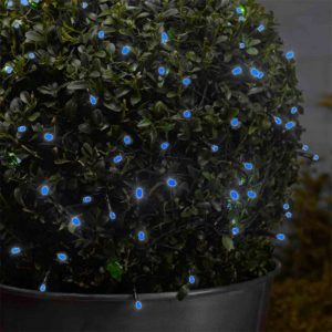 Smart Garden 100 LED Battery Lights Blue
