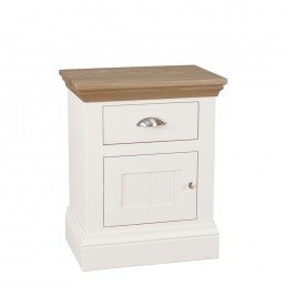 Chatsworth Small 1 Door 1 Drawer Bedside (L/H)