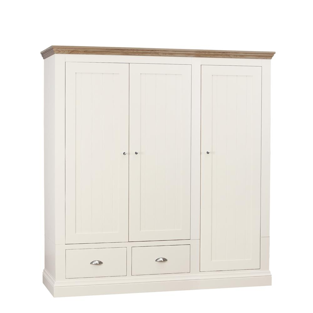Chatsworth Triple 2 Drawer Wardrobe