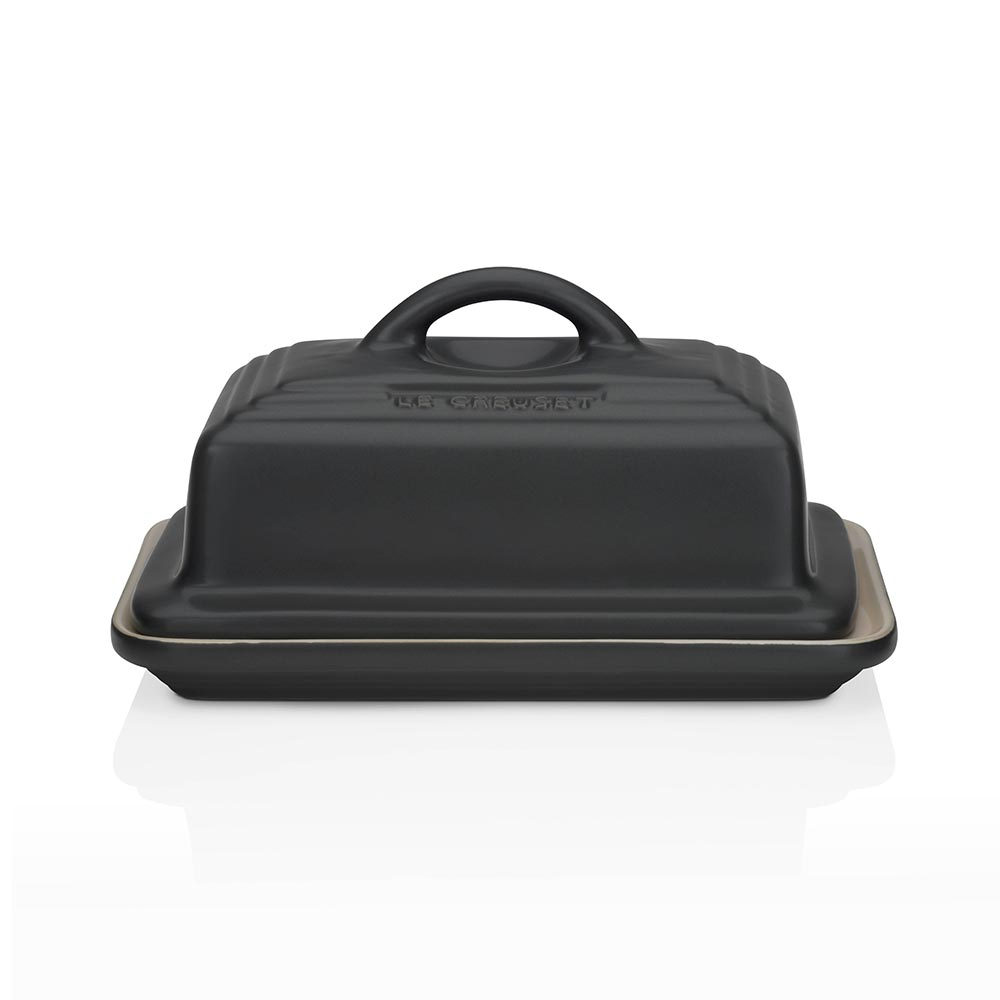 Le Creuset Butter Dish Satin Black