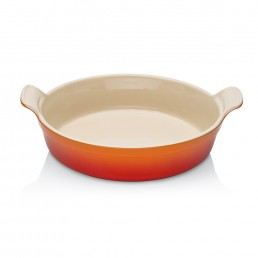 Le Creuset Deep Round Dish Volcanic