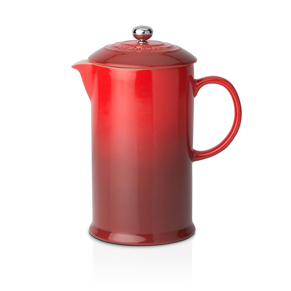 Le Creuset Coffee Pot & Press Cerise