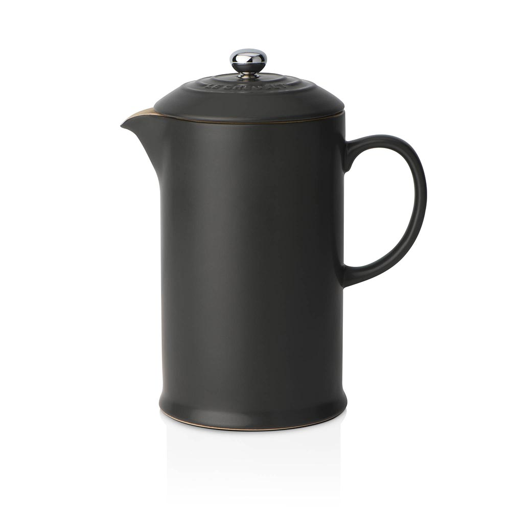 Le Creuset Coffee Pot & Press Satin Black