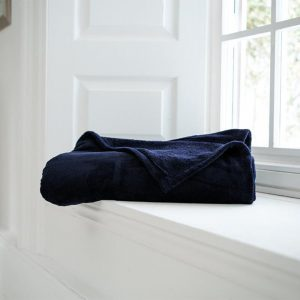 Snuggle Touch Throw Navy