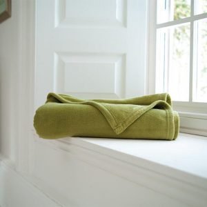 Snuggle Touch Throw Olive