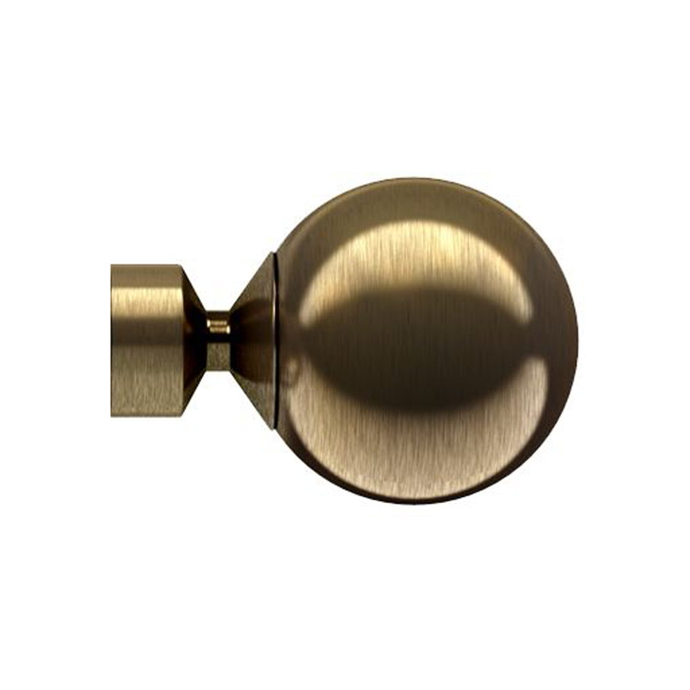Bugle 28mm Antique Brass Finial