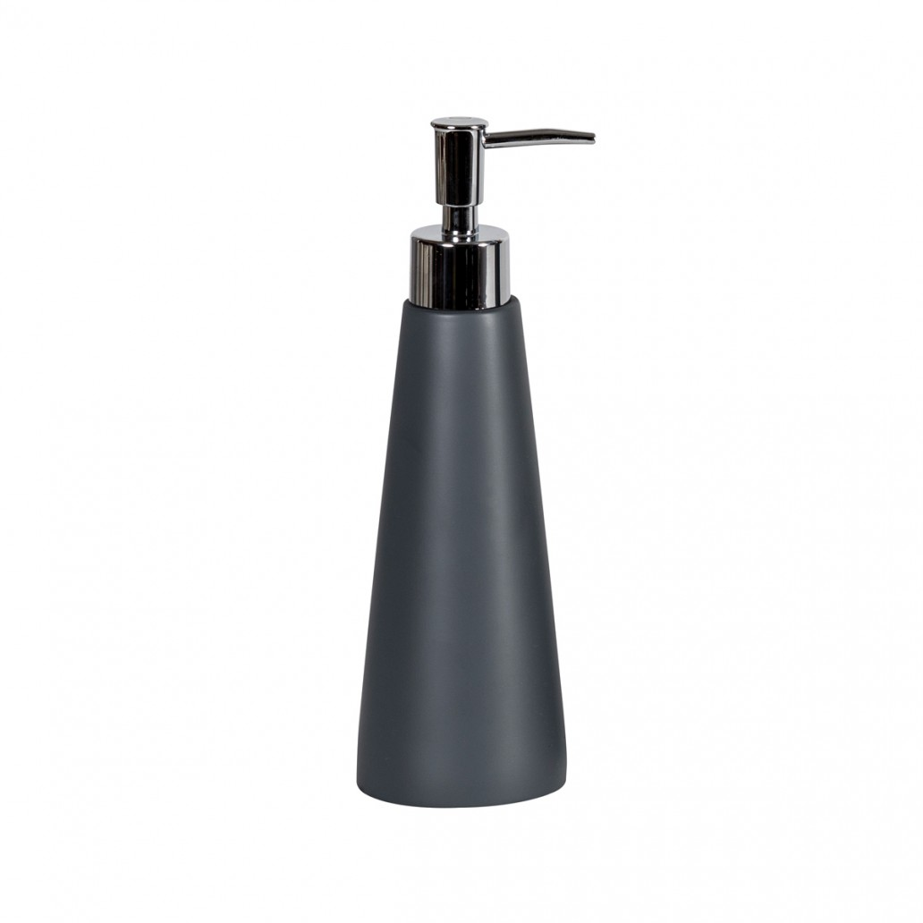 Alto Liquid Soap Dispenser Grey Resin