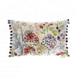 Voyage Hedgerow White Cushion 40x60cm