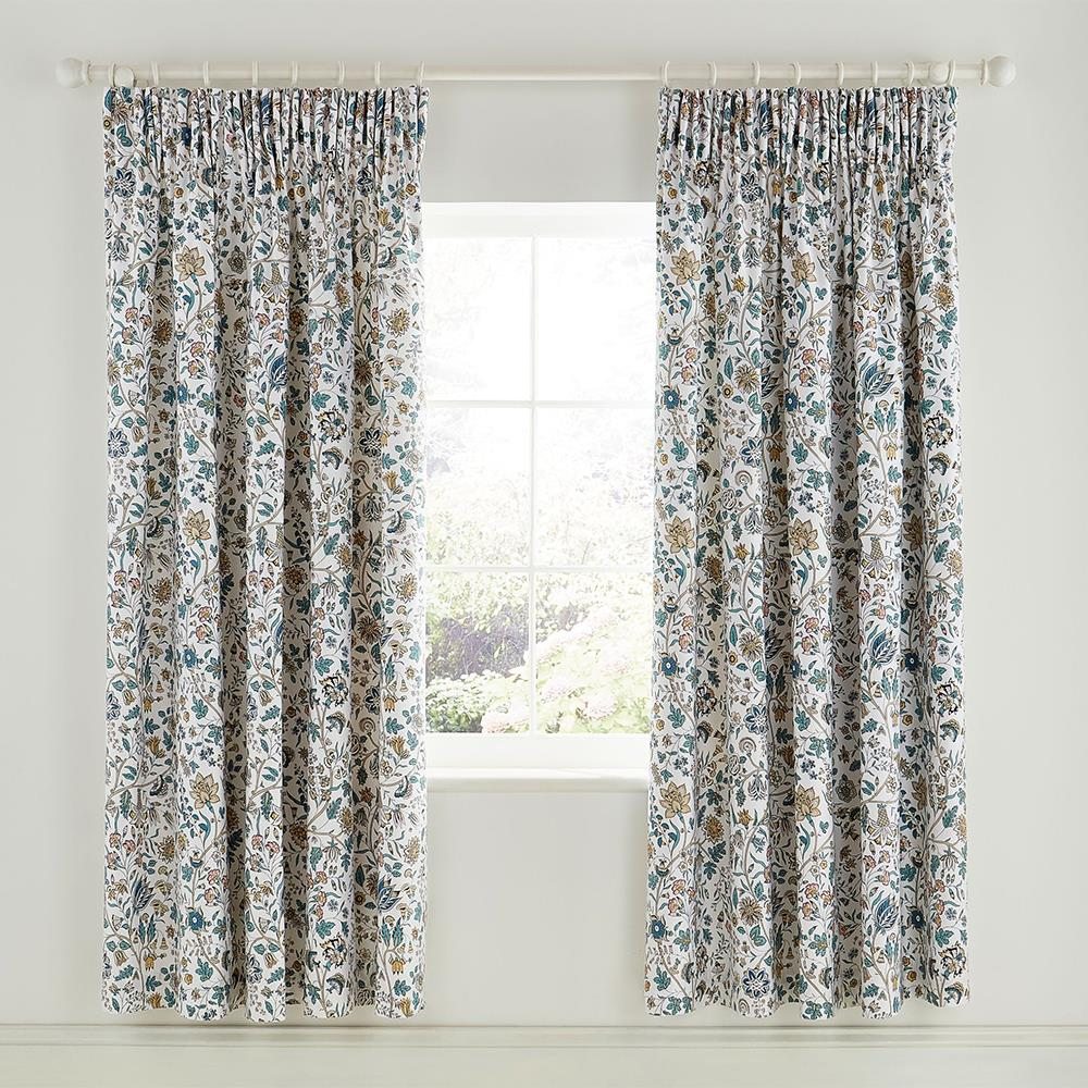 Sanderson Sita Curtains 66 x 72″ Pewter