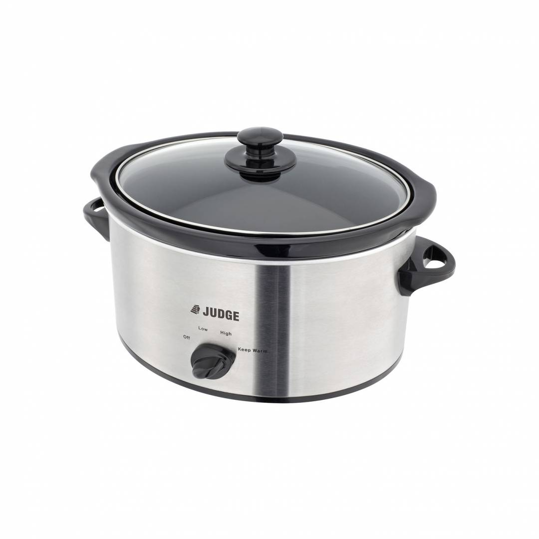 Judge 5.5 Litre Slow Cooker