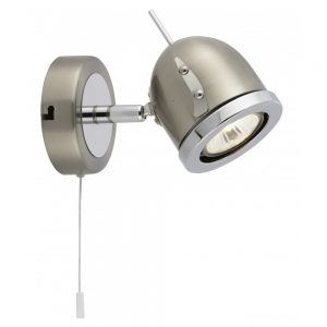 Searchlight 4921SS Palmer 1 Wall Light
