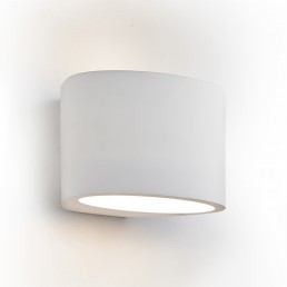 Searchlight 8721 Gypsum Oval Wall Light