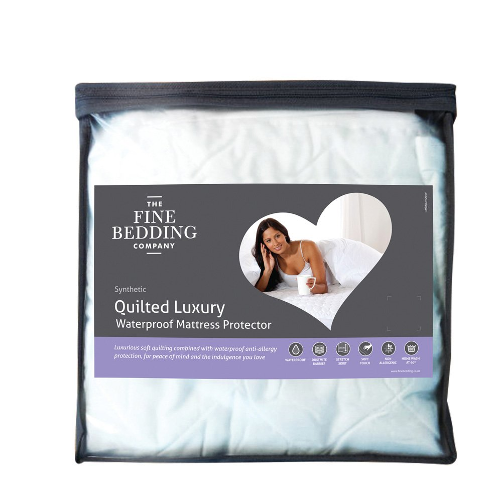 Luxury Quilted Waterproof Mattress Protector
