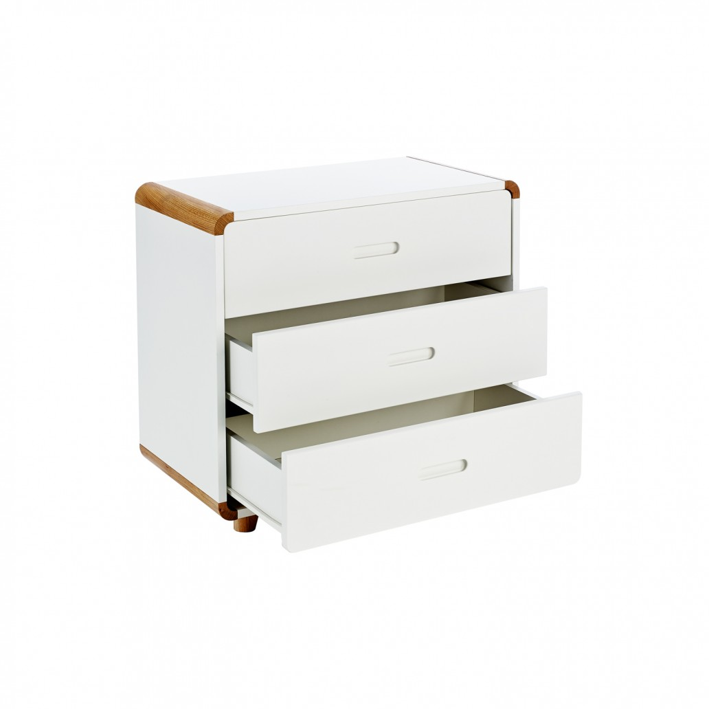 Stompa Curve Deluxe 3 Drawer Chest