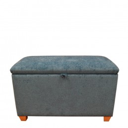 Harlequin large domed ottoman