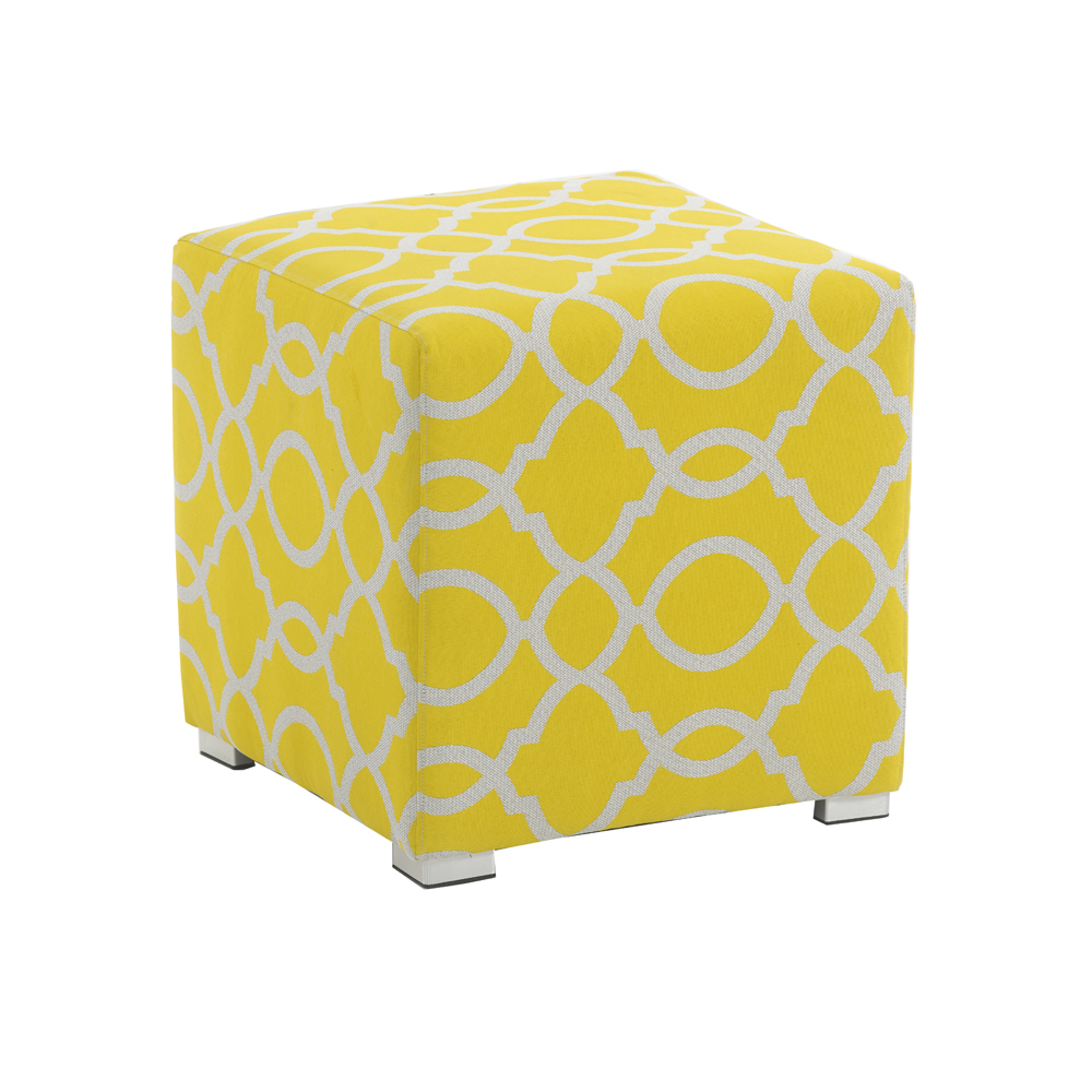 Cubic Stool Citron