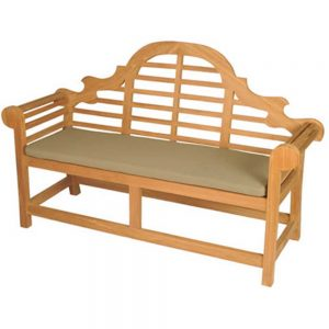 Lutyens Bench with Cushion