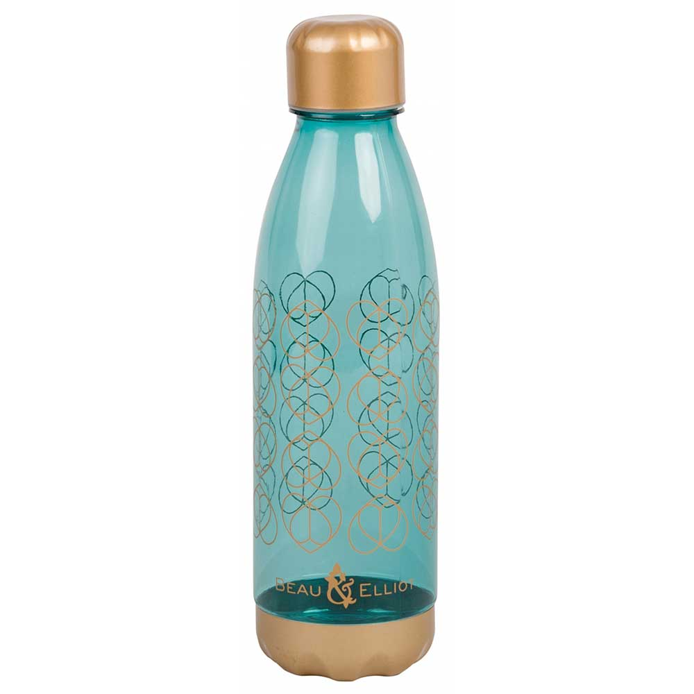 Beau & Elliot 700ml Hydration Water Bottle In Teal