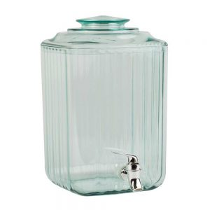 Recycled Glass Effect Drinks Dispenser