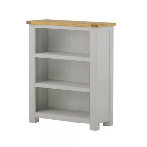 Pemberley Small Bookcase Stone
