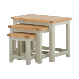 Pemberley Nest of Tables Stone