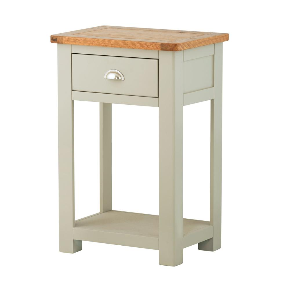 Pemberley 1 Drawer Console Table Stone