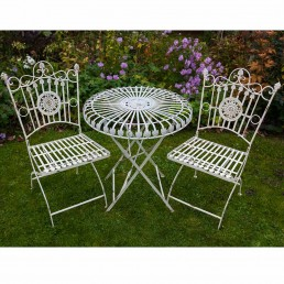 Bonnieux Table and 2 Chairs Bistro Set