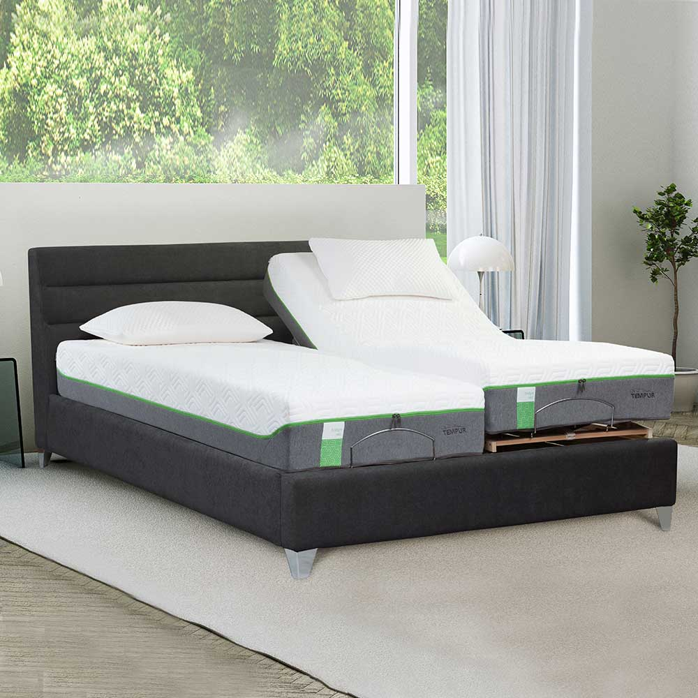 Tempur Genoa Adjustable Massage Bedstead