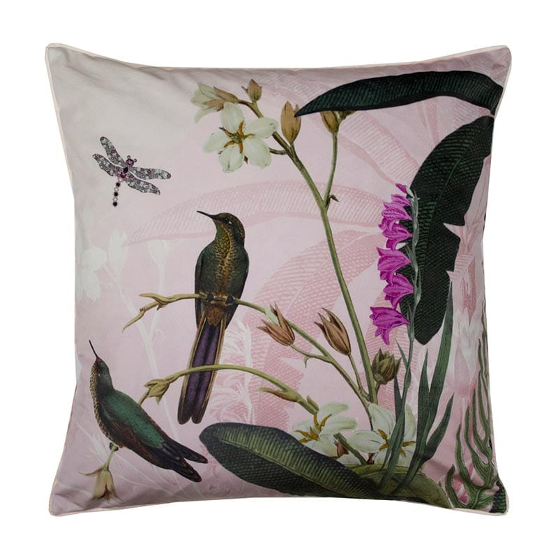 Ted Baker Pistachio Cushion Pink 45x45cm