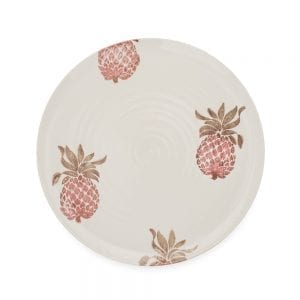 Emily Bond Pineapple Dinner Plate