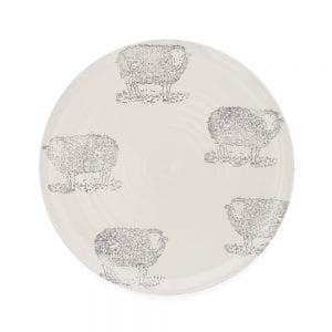 Emily Bond Sheep Dinner Plate