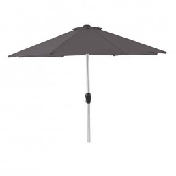 2.5m Parasol With Crank Handle – Grey