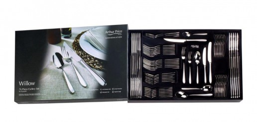 Willow 76 Piece Boxed Cutlery Set