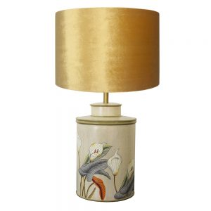 Jenny Worral Arum Lily Table Lamp