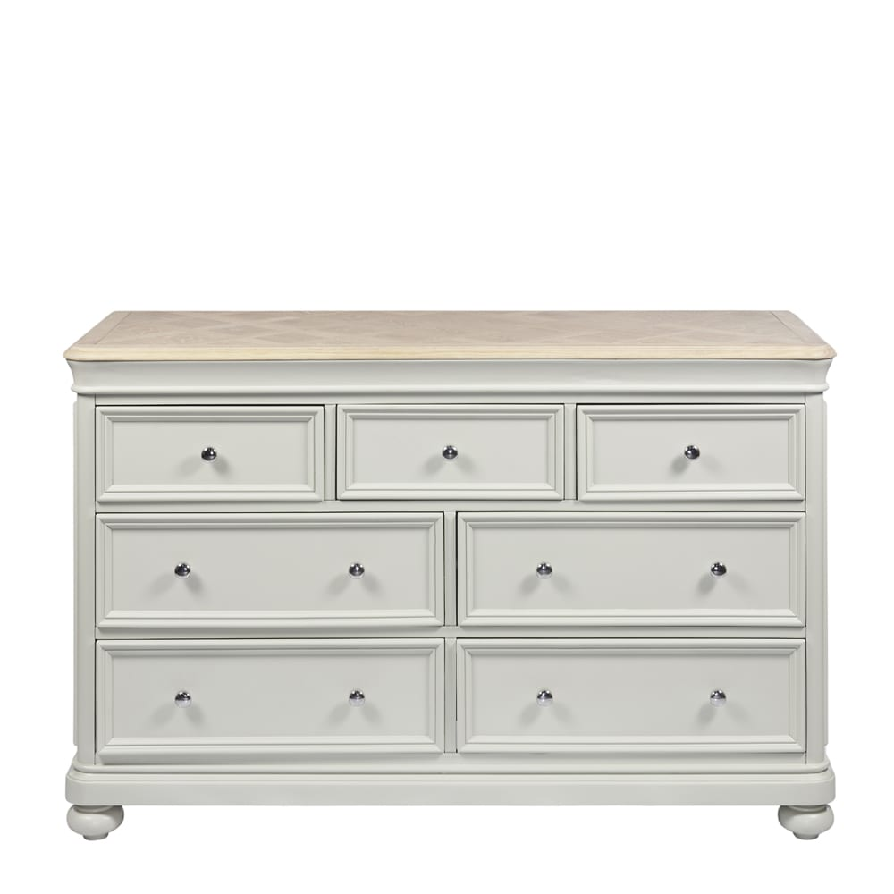 Padstow 3 Over 4 Drawer Chest