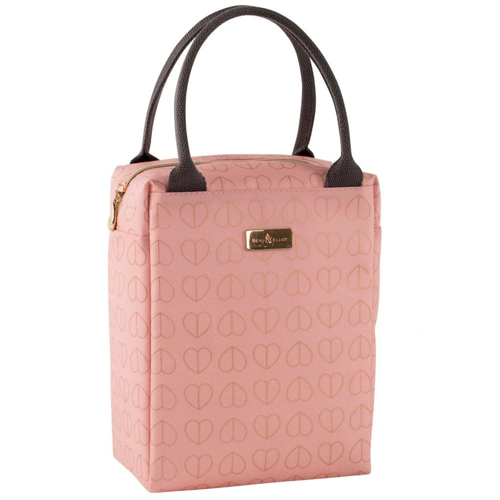 Beau & Elliot Insulated Lunch Tote Bag Blush
