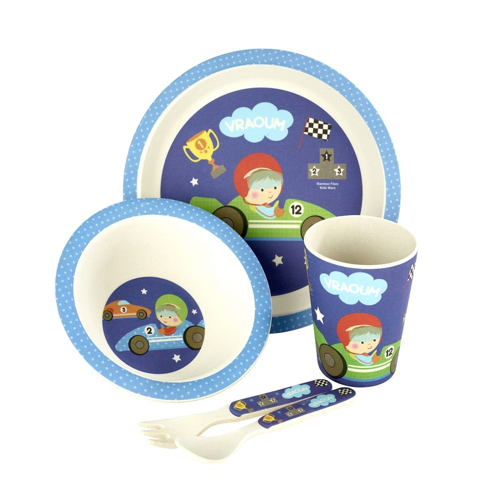 Little Racer 5 Piece Childrens dinning Set