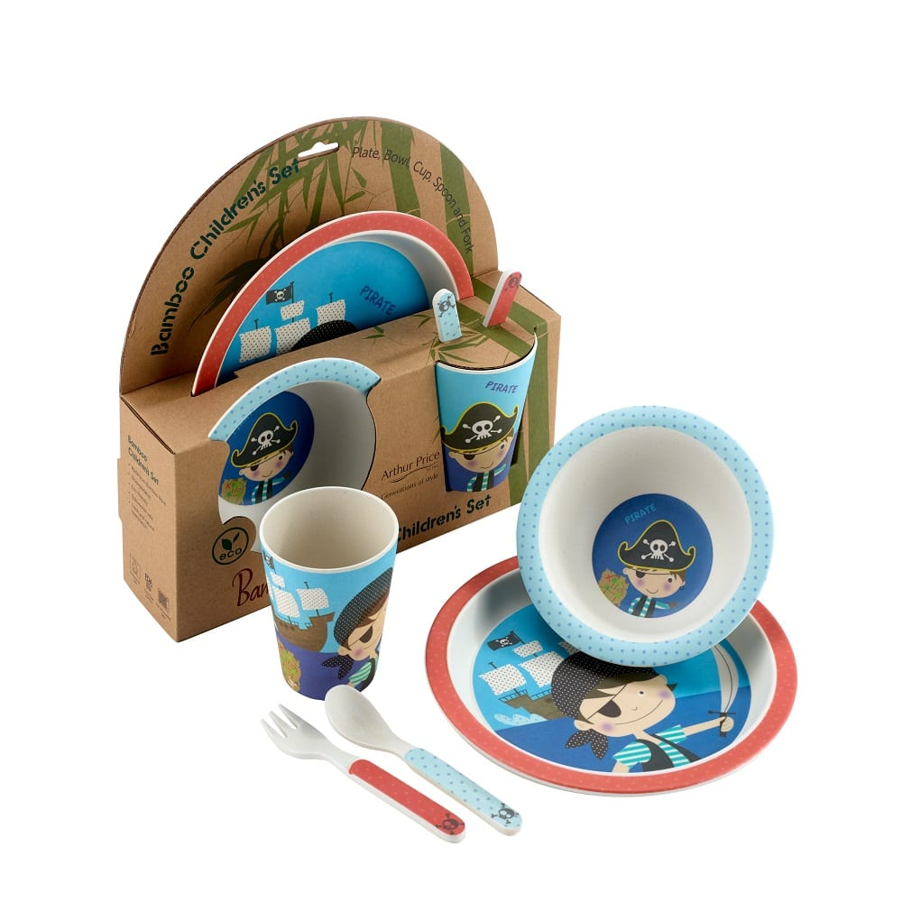 Bambino Pirate 5 Piece Childrens Dinning set